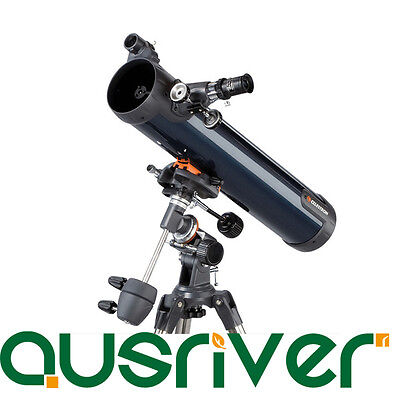 Celestron AstroMaster 76EQ Telescope Astronomical Reflector Entry Level 31035