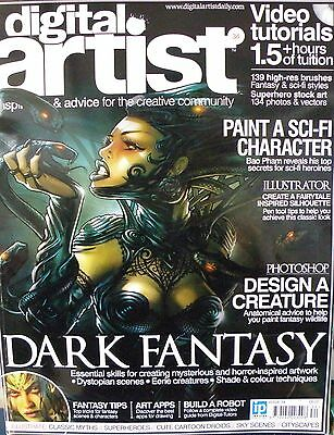 Digital Artist Magazine No 34 - Paint A Sci-Fi Character CD Included