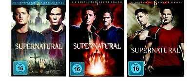 Supernatural - Season/Staffel 4+5+6 * NEU OVP * DVD Box Set
