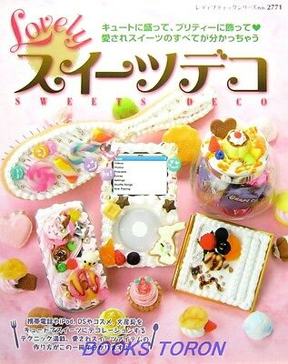 Lovely Sweets Deco /Japanese Handmade Clay Craft Pattern Book