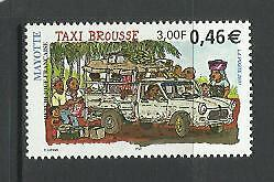 "MAYOTTE. Año: 2001. ""TAXI BROUSSE""."