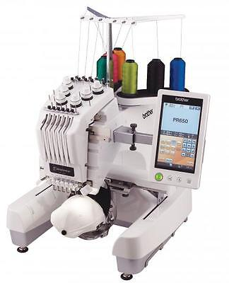 Brother PR655 Industrial Embroidery Machine + USB Ports 6 needle 0% Finance
