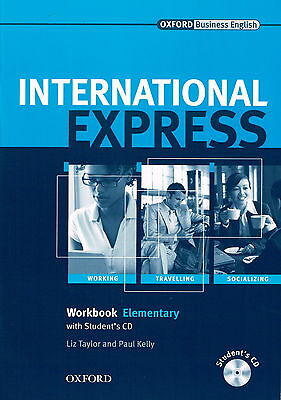 Oxford INTERNATIONAL EXPRESS Elementary Workbook with Student's CD @NEW BOOK@
