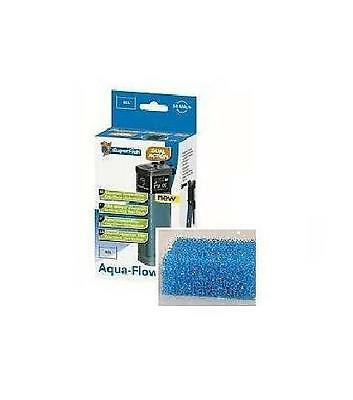Superfish Aqua Flow XL Foam 9 x 5 x 3cm 2 Pieces Replacement Foam Filter Media