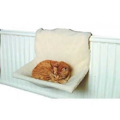 New Cat Dog Radiator Bed Warm Pet Fleece Basket Cradle Animal Puppy Hammock