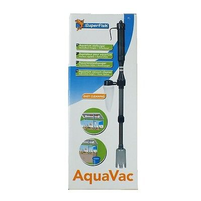 Superfish Aquavac Aquarium Fish Tank Syphon Cleaner Vacuum Aqua Gravel Vac