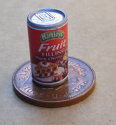 1:12 Empty Cans White Fish Dolls House Miniature Kitchen Food Store