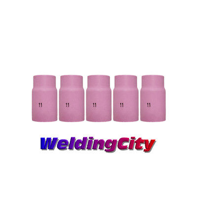 5 TIG Welding Ceramic Cup Nozzles 10N46 #8 Torch 17//18//26US Seller Fast Ship