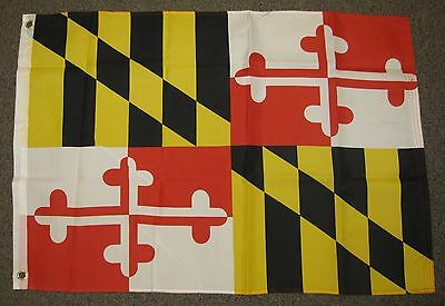 Maryland State Flag  2X3 Feet Shield Coat Of Arms Calvert Family 2'x3'  F735