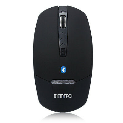 Souris Bluetooth Optique Sans Fil Mouse Wireless LED Bleu Pour Apple Mac PC