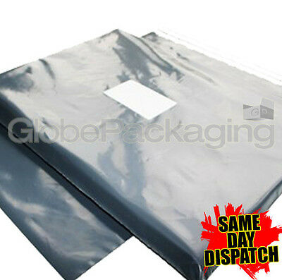"50 x GREY MAILING POSTAGE BAGS 9x12"" 9 x 12"" *OFFER"""