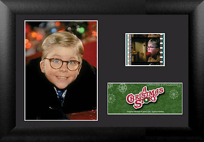 Film Cell Genuine 35mm Framed Matted A Christmas Story USFC6062 Ralphie