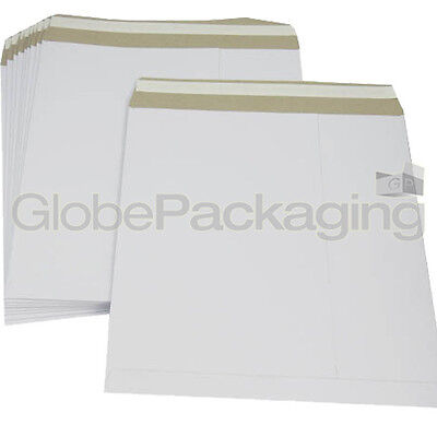 "20 x 12"" STRONG WHITE LP RECORD MAILERS ENVELOPES NEW"