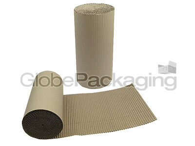 550mm x 10m CORRUGATED CARDBOARD PAPER ROLL 10 METRES