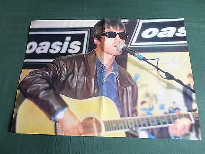 Oasis - Magazine Clipping ( Centrepage Spread - Pin -Up)