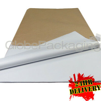 1000 SHEETS OF WHITE ACID FREE TISSUE PAPER 450x700mm