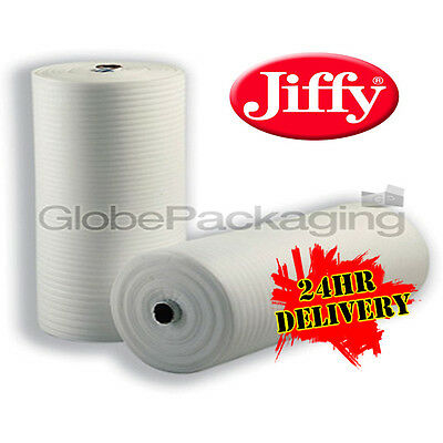 750mm x 50M Roll Of JIFFY FOAM WRAP Underlay Packing