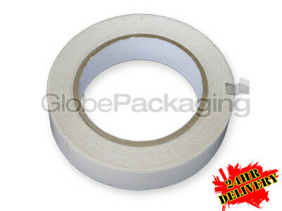 48 Rolls Of STRONG DOUBLE SIDED Sticky Tape 25mm x 50M