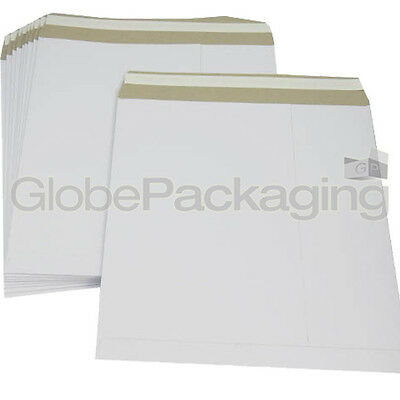 "10 x 12"" STRONG WHITE LP RECORD MAILERS ENVELOPES NEW"