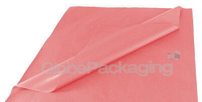 100 SHEETS OF PASTEL PINK ACID FREE TISSUE PAPER 500mm x 750mm *HIGH QUALITY*