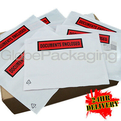 5000 A5 Printed Document Enclosed Wallets Envelopes