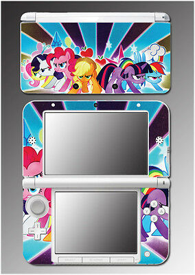 My Little Pony Friendship is Magic Angry! Cartoon Skin Decal for Nintendo 3DS XL