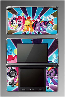 My Little Pony MLP Friendship is Magic Equestria Cartoon SKIN Cover Nintendo 3DS