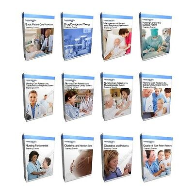 Nursing Nurse Patient Care Fundamentals Training Course Collection Bundle