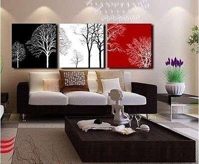 3pc Original Abstract Modern Wall Decor Oil Painting (No Frame)
