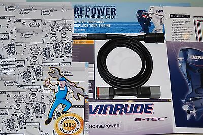 PROFESSIONAL Evinrude Diagnostic Kit E-tec/Ficht+ EMM diagnose,restoring,update