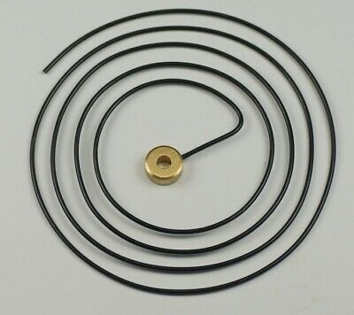 "GONG WIRE CLOCKS 4 1/2"" diameter clock parts clockmakers repairs alarm"