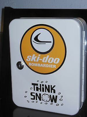 Vintage Ski-Doo Snowmobile 1960S Era Dealership Service Counter 48 Place Keybox
