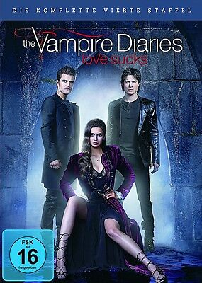 The Vampire Diaries - Season/Staffel 4 * NEU OVP * 5 DVD Box