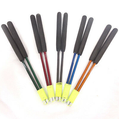 Coloured Carbon Diabolo sticks - Carbon Fibre Diablo Handsticks - 5 Colours