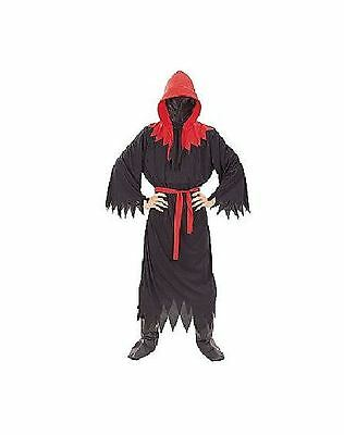 Totally Ghoul Men's Grim Reaper Halloween Costume Size Osfm Nwt!