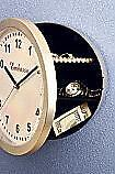 Household Wall Clock Diversion Safe Home Office Dorm Travel