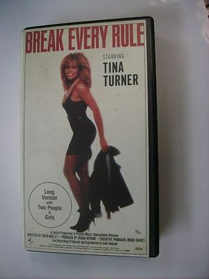 Tina Turner - Break Every Rule - Vhs Pal