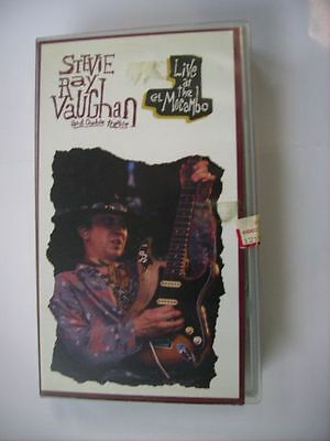 Stevie Ray Vaughan - Live At The El Mocambo - Vhs Pal