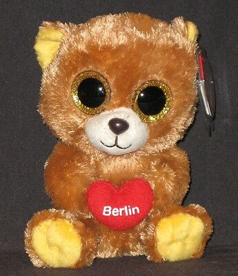 GERMANY EXCLUSIVE MINT with MINT TAGS TY BEANIE BOOS COLOGNE the BEAR