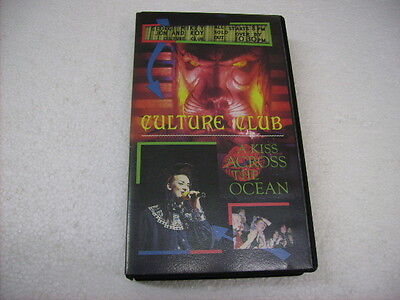 Culture Club - A Kiss Across The Ocean - Vhs Pal