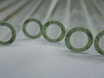 8 inch long Pyrex Glass Tubing 12 mm OD 8mm ID 20 Drinking Strew Thick Wall