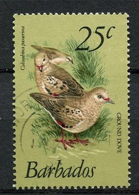 Barbados 1979-83 SG#629, 25c Birds Definitive Used #A51177