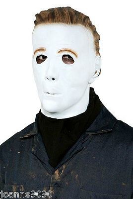 Official Licensed Michael Myers Halloween Fancy Dress Latex Moulded Costume Mask