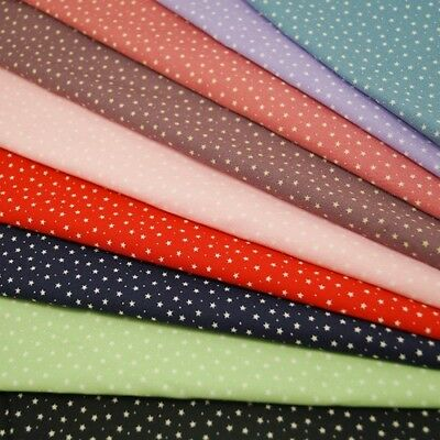 3mm Stars & Spots 100% Cotton Poplin Fabric