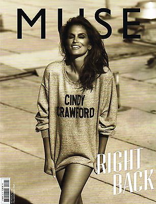 MUSE Magazine #34 CINDY CRAWFORD Nadja Bender ROSIE HUNTINGTON-WHITELEY @NEW@