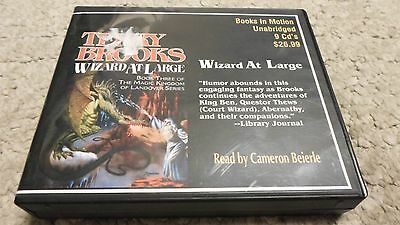 Wizard At Large by Terry Brooks CD Audiobook COMPLETE