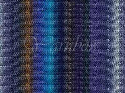 NORO ::Silk Garden Lite #2088:: mohair silk wool yarn Blues-Nut-Silver