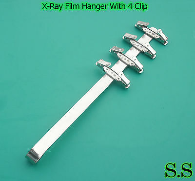 3 Dental X-ray Film Hanger With 4 Clip (Dental Supply)