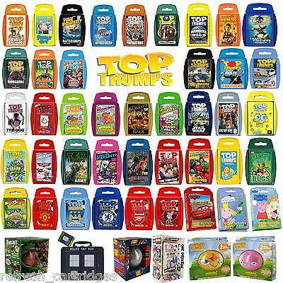 Top Trumps Massive Selection Choose Your Favourite From Up To 60 Choices!