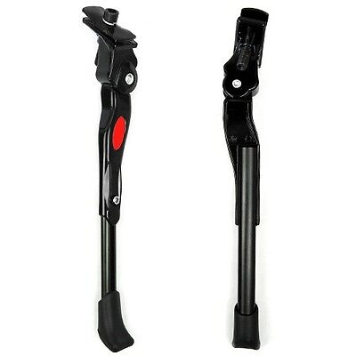 Bike Bicycle Adjustable Alloy Middle Outrigger Stand Foot Kickstand Storage